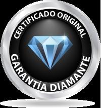 Certificado de Garantía de diamante