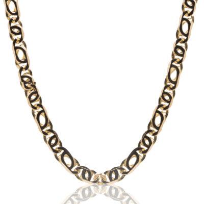Cadena de oro de 18kt de primera ley