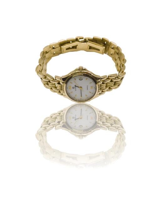 Reloj en oro de 18kt de primera ley